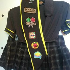 Foreplay Naughty Girl Scout Costume size S